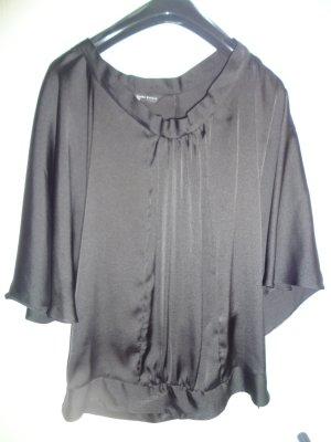 Glänzende Fledermaus-Bluse Gr. XS