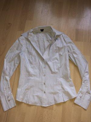 Glänzende graue Bluse von ESPRIT Gr 36 neuw