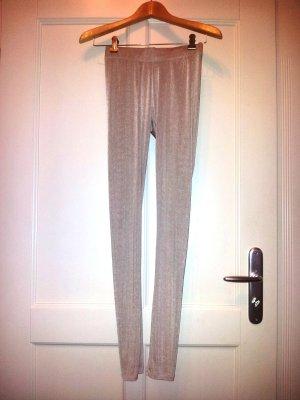 Glänzende Leggings mit bequemen Bund
