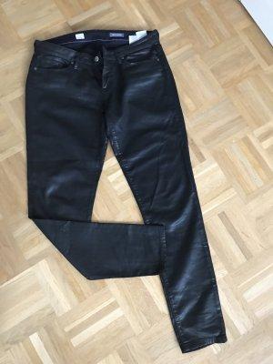 Glänzende Skinny Jeans