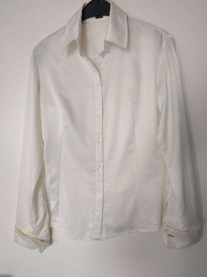 Esprit Blouse brillante blanc cassé polyester