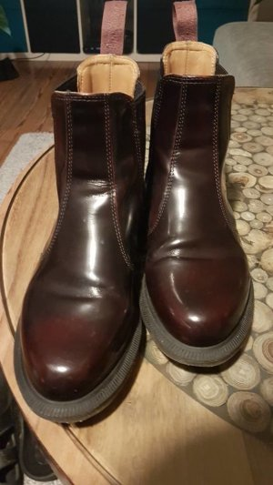 Dr. Martens Chelsea Boots bordeaux leather