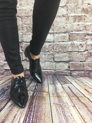 Gerry Weber Scarpa stringata nero-antracite Pelle