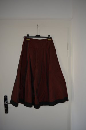 form e couleur Crash Skirt dark red-black