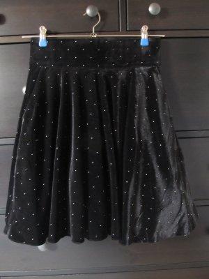Orsay Jupe évasée noir polyester
