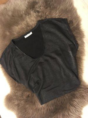 glänzendes T-Shirt von Pieces