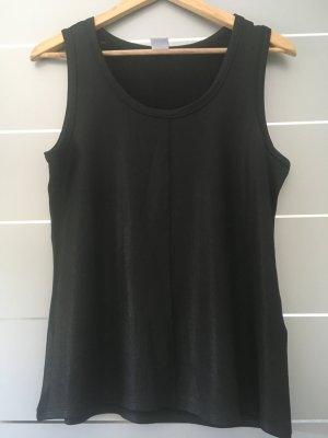 Glänzendes Top Vero Moda L Schwarz