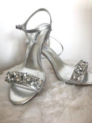 Glam on ❤️ High Heel Sandalen mit Steinbesatz von DUNE London Gr. 39 - neu!