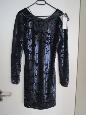 Glam Sequin Dress 40 Dunkelblau