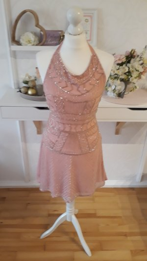 Glamorous A Line Dress rose-gold-coloured-pink
