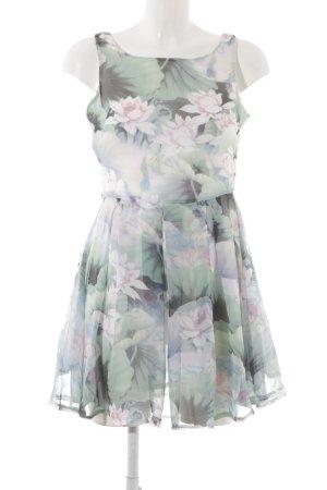 Glamorous A-Linien Kleid Blumenmuster Casual-Look