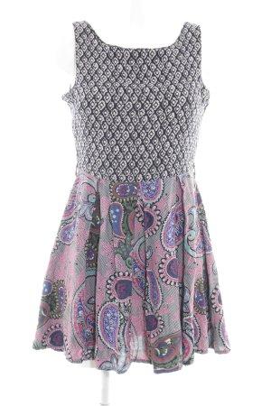 Glamorous A-Linien Kleid florales Muster Casual-Look