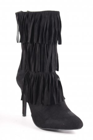Glamorous Absatz Stiefel schwarz Boho-Look