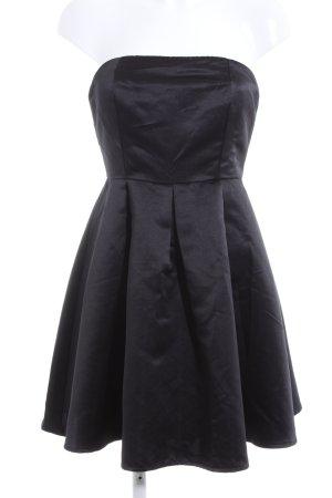 Glamorous Bandeaukleid schwarz Elegant
