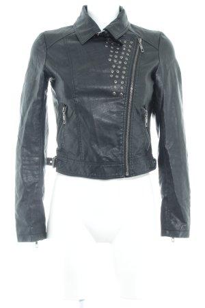 Glamorous Bikerjacke schwarz Biker-Look