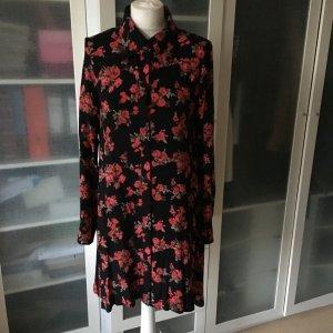 Glamorous Blusen Kleid mit Blumen Print Gr. 14