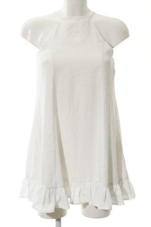 Glamorous Blusenkleid weiß Casual-Look