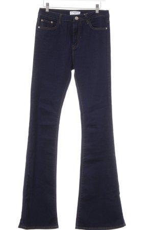Glamorous Boot Cut Jeans dunkelblau 80ies-Stil