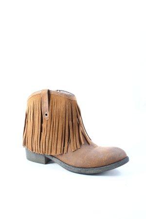 Glamorous Boots hellbraun Boho-Look