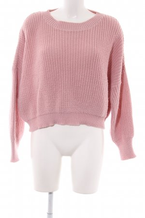 Glamorous Grobstrickpullover pink Casual-Look