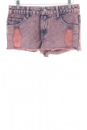 Glamorous Hot Pants blau-pink Casual-Look