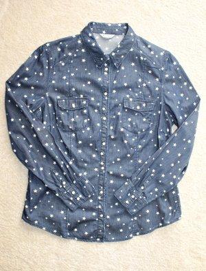 Glamorous – Jeanshemd mit Sternenmuster
