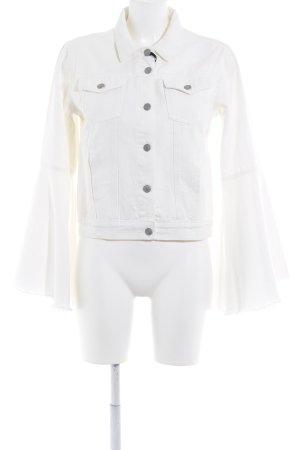 Glamorous Veste en jean blanc Aspect de jeans