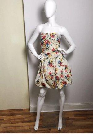 Glamorous Kleid , Gr. 38 geblümt Retro Pinup
