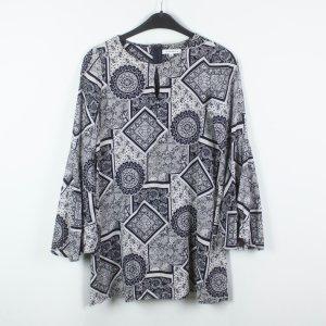 Glamorous Kleid Gr. XS weiß schwarz gemustert (19/02/353)