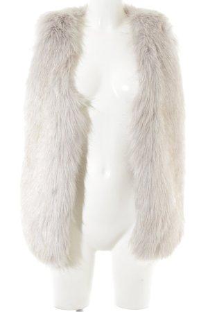 Glamorous Fake Fur Vest light grey street-fashion look