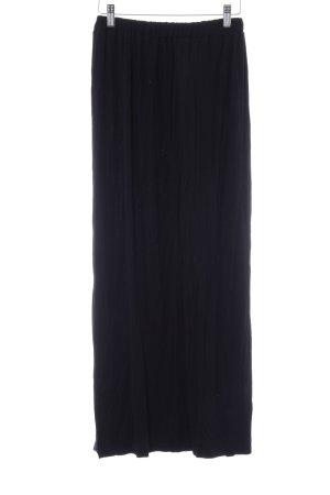Glamorous Jupe longue noir style simple