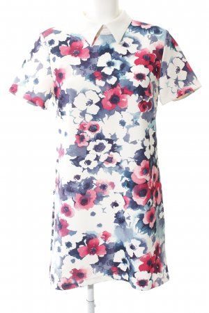 Glamorous Polo Dress flower pattern casual look