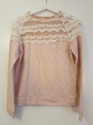 Glamorous Pullover in rosa