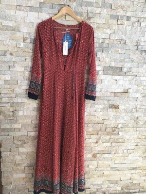 Glamorous red&navy maxi dress neu mit Etikett