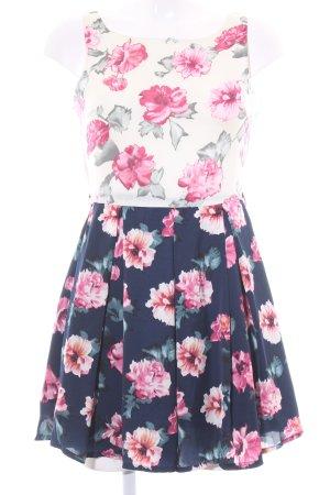 Glamorous schulterfreies Kleid Blumenmuster Romantik-Look