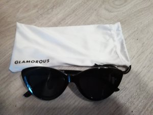 Glamorous Sonnenbrille Cateye Katzenauge Katzenform Retro