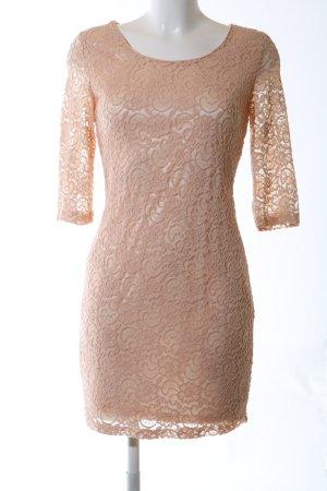 Glamorous Spitzenkleid nude Elegant