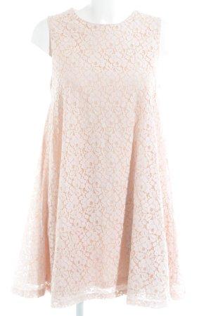Glamorous Spitzenkleid rosé-nude Elegant