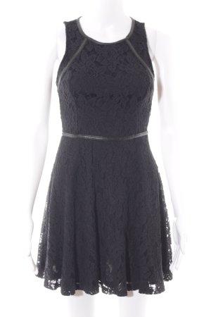 Glamorous Spitzenkleid schwarz Elegant