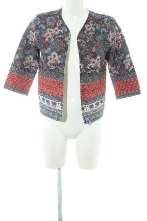 Glamorous Veste matelassée motif floral style extravagant