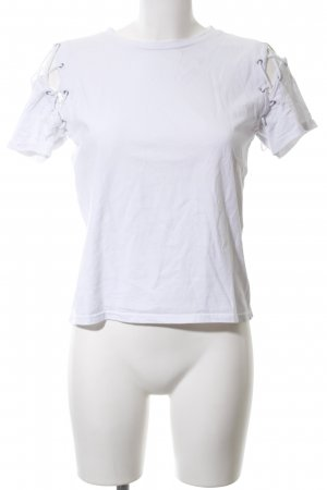 Glamorous T-Shirt weiß Casual-Look