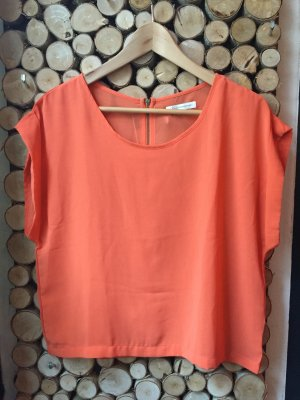 Glamorous Top in Orange