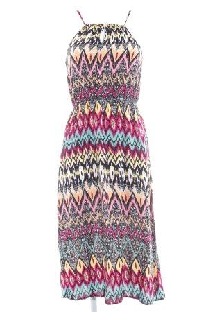 Glamorous Trägerkleid abstraktes Muster Casual-Look