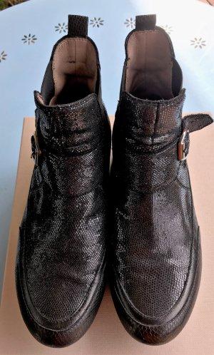 Candice Cooper Sneaker slip-on nero Pelle
