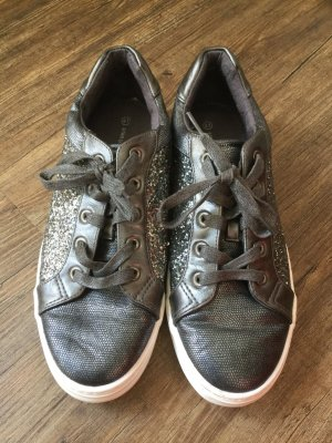 Glamour Glitzer Sneaker von Star Collection in Gr. 41