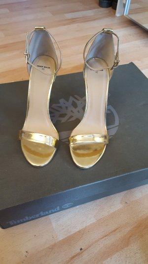 High Heel Sandal gold-colored