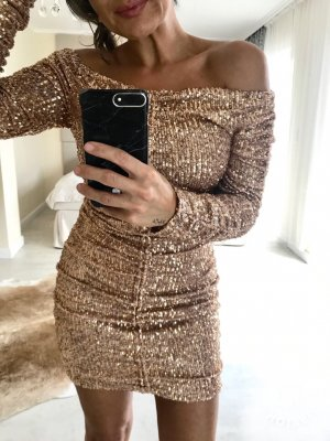 Zara Sequin Dress multicolored