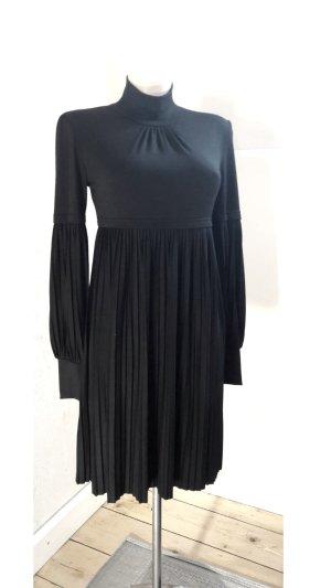 Glamour Luxus Langes Kleid Schwarz mit Muster von der Marke Rinascimento Größe M/L Stretch
