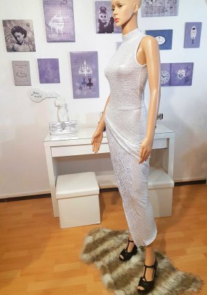100% Fashion Evening Dress light grey