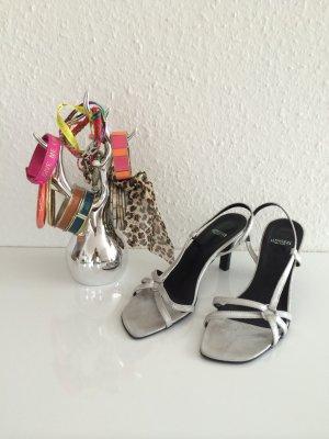Glamour Sandalette in Silber